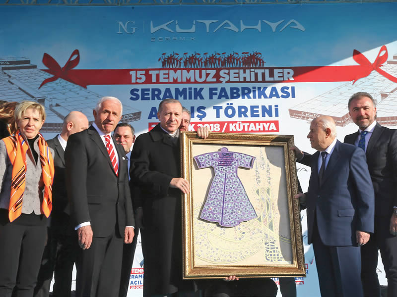 15 Temmuz Şehitler Seramik Fabrikası