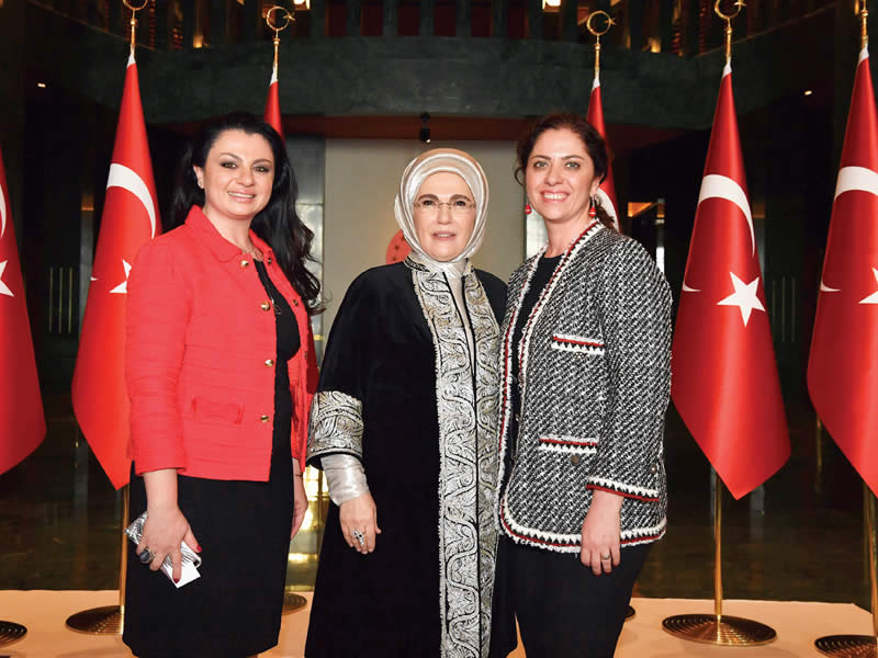 Emine Erdoğan. Sema Güral Sürmeli, Hediye Güral Gür